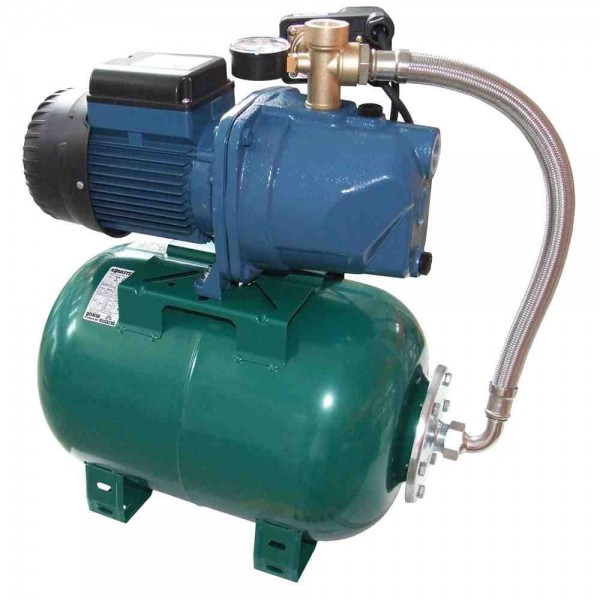 Hidrofor 900 W, Haspiratie: 9m, 3.300l/h, Rezervor 24 L,  WK 3300