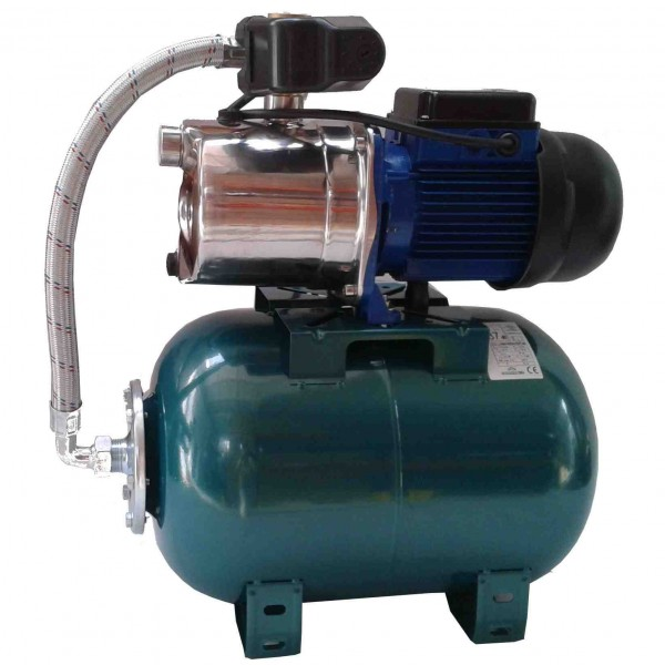 Hidrofor, Pompa Inox, 1.300 W, Haspiratie: 9m, 4.200l/h, Rezervor 24 L,  HW X4200