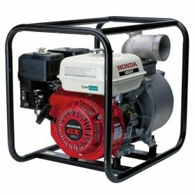 Motopompa HONDA WB 30 XT DRX, 3600W, 66000l/ora, motor benzina HONDA GX160, 4 timpi, ape semiincarcate