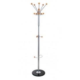 Cuier pom metalic Roma 176cm