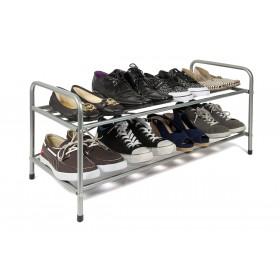Suport pantofi, 2 polite metalic Nardin, dimensiuni 92x39x35cm