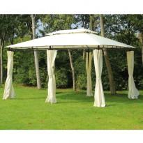 Pavilion gradina Ancona 4mx3m xInaltime 2,75m, pereti laterali