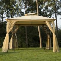 Pavilion gradina Siena 3mx3m xInaltime 2,75m, pereti laterali